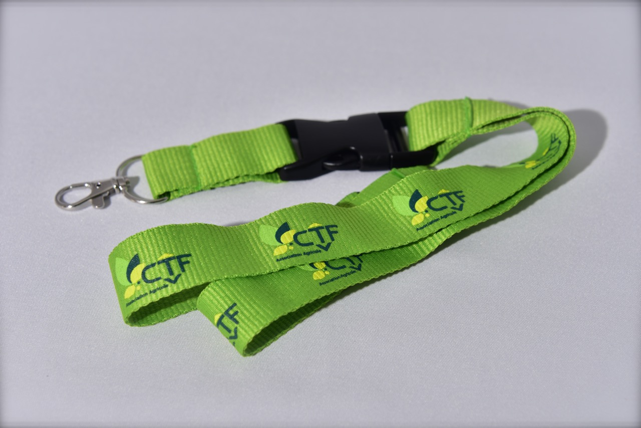 CTF Lanyard mit abnehmbarer Schleife