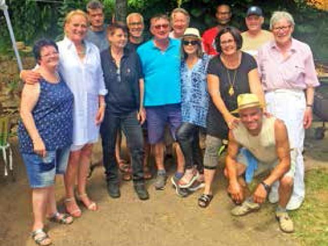 Grillfest op der Ginz - Gaart an Heem Rollengergronn
